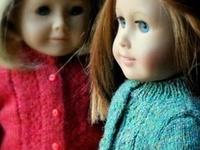 Tricot pour poupée / Knitting for dolls