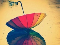 Rain & rainbows, fog & storms
