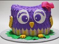 Owl Cakes