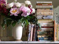 Een weerzien van ooit gelezen boeken en de ontdekking van nog te lezen boeken.