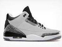 Shopping Online for fashion designed Air Jordan Retro Wolf Grey 3s Shoes.Authentic Cheap Wolf Grey 3s for sale free shipping now! http://www.theblueretros.com/