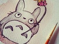 My neighbour Totoro and other Ghibli friends!