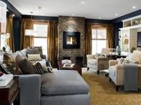 Family Room On Pinterest Fireplaces Family Rooms And Stone Walls