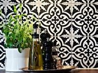 We love these designs and inspirations from around the world. Many are available in our online store or we can manufacture any of these styles or patterns in the colors of your choice. Please contact us at (800) 704-2701 or visit www.cementtileshop.com for more information.