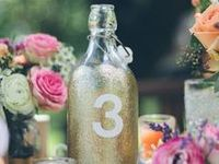 Wedding || TABLE NUMBERS
