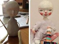 cloth and clay art dolls that inspire me and tutorials that help me to create my own dolls