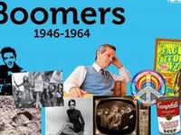"""""""A baby boomer is a person who was born during the demographic post-World War II baby boom between the years 1946 and 1964, according to the U.S. Census Bureau."""" (Wikipedia) I am a baby boomer and created this board to Share some of  my memories and news events of the boom years and a little afterward."""