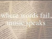 Where words fail, music speaks. I watch these videos when I am on my treadmill. ❤
