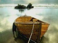 Barche solitarie in luoghi insoliti e non