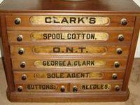 Spool/Treath Cabinet / Drawers /Boxes / Merceries