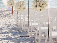 One of the most romantic places to get married is on the beach in South Lake Tahoe!