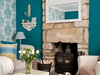 8 Best Images About Teal Lime Green And Purple Living