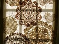 Vintage Doilies, Lace, & Handkerchiefs