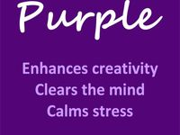 Just about purple everything. Come here to get my purple fix. LOVE purple!
