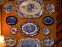 Plates on the Wall - Board made by Feride Özmat - Istanbul / Turkey