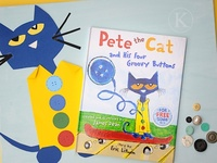 Pete the Cat With PB & J