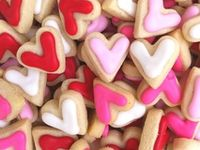 Valentine treats, paper goods and gift suggestions.