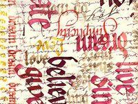 Calligraphy ideas