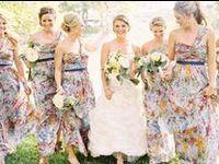Mix Prints Bridesmaid dresses