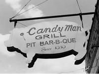 BBQ signs and storefronts  (tags: BBQ, Barbecue, Barbeque, Bar-b-cue, Bar-b-que, B-B-Q, grill, grilling, campfire, chuckwagon, chuck wagon)