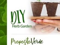 DIY Herb Gardens / Here you going to find anything you need to know before and after planting, for small and big backyards, inside and outside designs, differents ways to build a herb garden, growing a successful vegetable garden, easy DIY indoor garden and Much More.