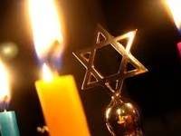 Hanukkah begins at sunset Tuesday, December 16, 2014 and ends at nightfall Wednesday, December 24, 2014. Chanukah, menorahs, dreidels, decorations, party ideas and anything blue!