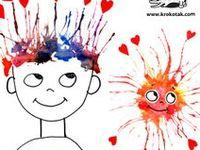 Ideen für unsere Kinder-Kunst-Werkstatt