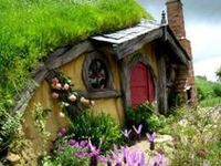 Hobbit Houses On Pinterest Root Cellar Miniature And Cob House