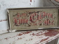 Victorian motto samplers