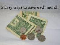 FINANCES/ MONEY