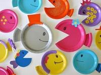 Idées avec des assiettes  (paper plate crafts)