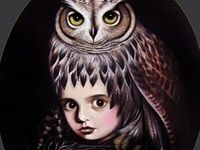 Owls have been my favourite bird since I was a little kid.  That, or a phoenix - but that's fictional.