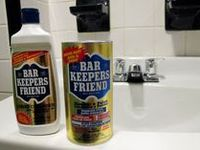 17 Best Images About Barkeepers Friend In The Bathroom On