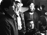 Super Junior (Korean: 슈퍼주니어; Syupeo Junieo) is a South Korean pop group. Formed in 2005 by producer Lee Soo-man of S.M. Entertainment, the group comprised a total of thirteen members at its peak. Super Junior originally debuted with twelve members, consisting of leader Leeteuk, Heechul, Hankyung, Yesung, Kangin, Shindong, Sungmin, Eunhyuk, Donghae, Siwon, Ryeowook and Kibum. Kyuhyun joined the group in 2006.