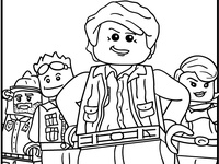 41 best Lego Coloring Pages images on Pinterest | Coloring ...