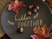 Entertaining for fall includes decorative accessories, Fall Tablescapes & Recipes {Eat a Caramel Apple - Roast Marshmallows - Carve a Pumpkin - Bake Cookies &