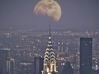 Caught Between the Moon and New York City