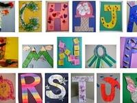 Alphabet Art & Crafts for Kids