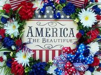 America, America!  God shed his grace on thee!  And crowned thy good with brotherhood, from sea to shining sea!! Bless God, America!!!