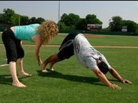 15 best images about yup baseball players do yoga on