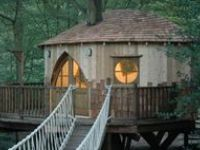 Treehouses & Treehouse Hotels, & Some Gnome & Fairy Homes