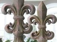The Fleur de Lis is a stylized iris, the favorite flower of the French King. It became the symbol of the French monarchy and can make any decor more regal and elegant. The three leaves also represent the medieval social classes: those who worked, those who fought and those who prayed.