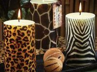 Take a walk on the wild side with safari animal prints and African artifacts that will add a dose of exotic chic to any room.