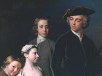 Fashion of the Rococo period 1730-1760.