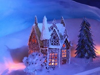 Gingerbread houses & Ideas for decorating for them.