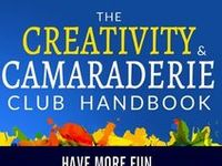 1000+ images about Creativity & Camaraderie Club Handbook ...