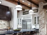 Faux Stone Sheets / Urestone faux stone and brick panels and interior design ideas on how to use them