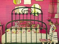 Bedroom LOVE~ French beds, Wrought Iron, Bedding...~