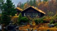Ekte fjellhytte / Traditional and old fashion norwegian cabin style