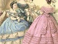1850s - 1860s Fashion Plates